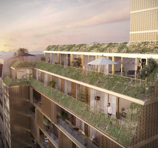 Promgramme-immobilier-neuf-appartement-Duplex-Ateliers-Vaugirards-Paris-19-PTZ-balcon