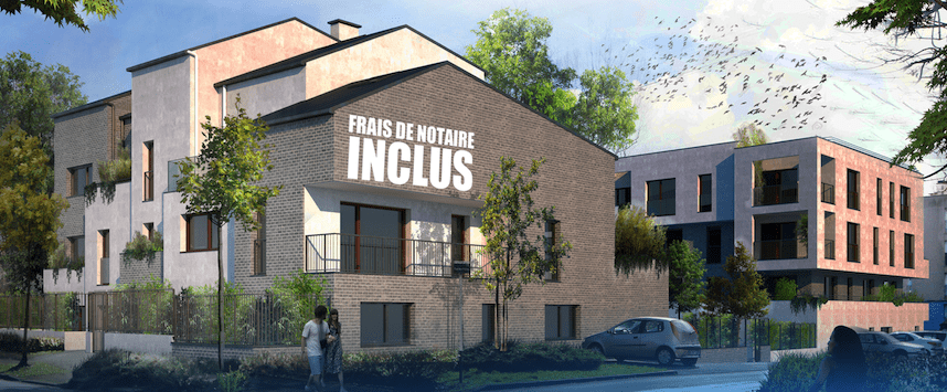 Programme immobilier neuf r sidence les h tres 93160 for Immeuble camembert noisy le grand