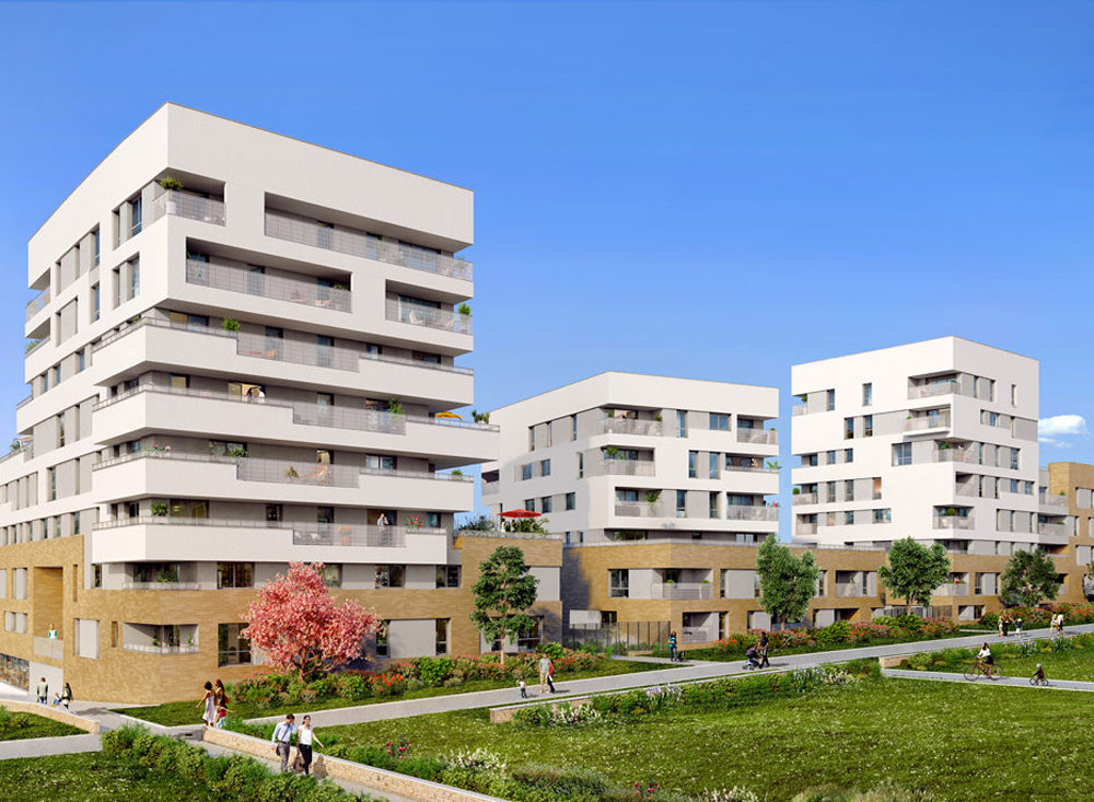 Programme immobilier neuf my horizon noisy le grand 93160 for Immeuble camembert noisy le grand