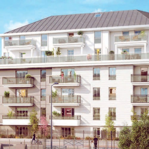 Programme immobilier neuf les terrasses d 39 ophelie 93130 for Horaire piscine drancy